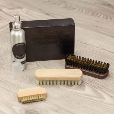 Suede Shoe Care kit Husky Smith london wedding