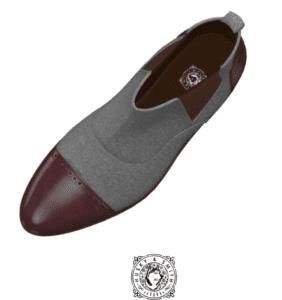 husky & Smith Grey + Cognac Chelsea Multi Boot