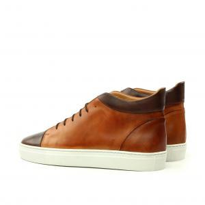 high top men casual luxury hanmade shoes
