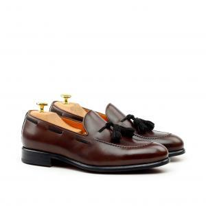 husky smith monk loafer-brown-+-tassels_6 shoe bag assessories motorcar elite manchester english northampton sell sale wedding