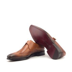 Husky & Smith single monk handmade shoe new