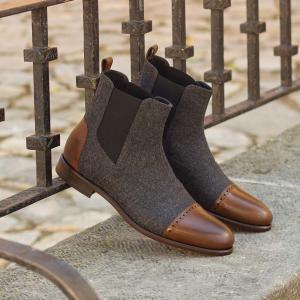husky smith customise your style chelsea boots groom wedding businessman travel
