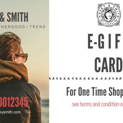 HandSmith E-Gift Card men women ladies boy girl shoe footwear wedding business London Manchester