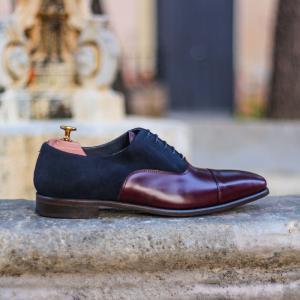 1557_husky smith oxford navy lux suede burgundy calf polish wedding shoe men grooms london party