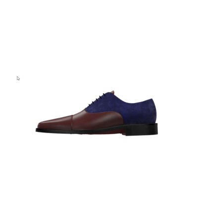 oxford burgundy and blue suede london guy men groom wedding husky smith huskyandsmith