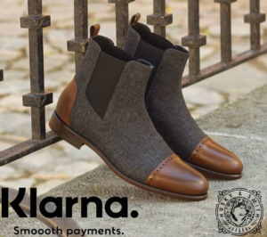 Husky & Smith supported by Klarna shopping men shoes footwear dapper london facebook gold horse polo makers market