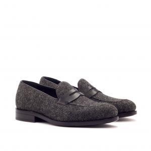 nailhead sartorial + black box calf loafers men footwear london zurich