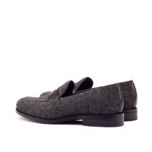nailhead sartorial + black box calf loafers men footwear london golf motosport F1