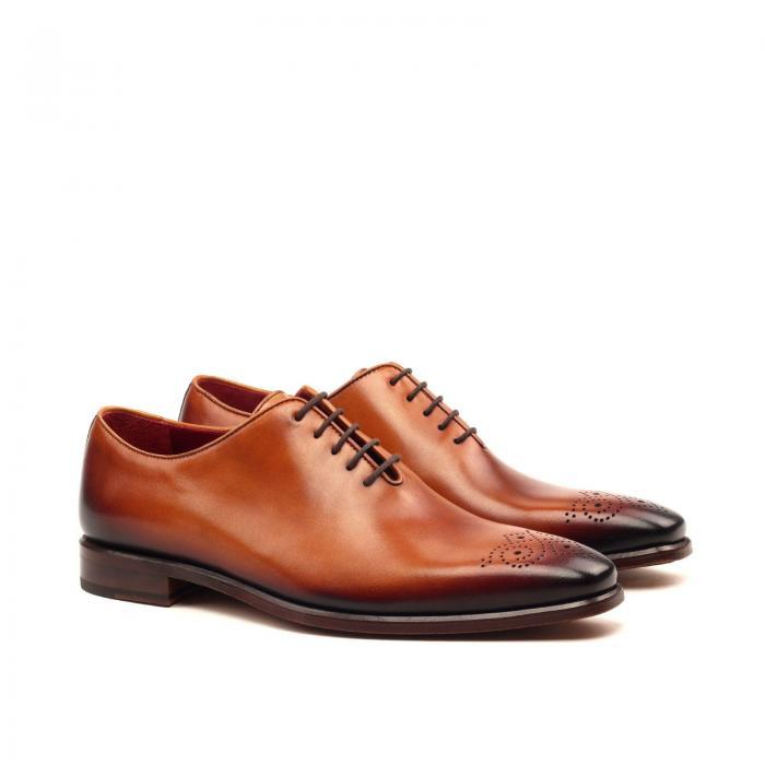 huskyandsmith cognac painted calf goodyear welt london