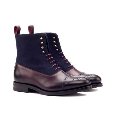 husky & smith favian goodyear welt boot casual london zurich