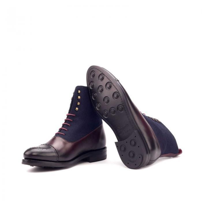 husky & smith favian goodyear welt boot men wedding casual outdoor horse footwear